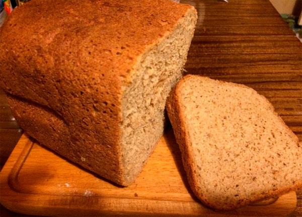 хлеб с отрубями в духовке простой рецепт