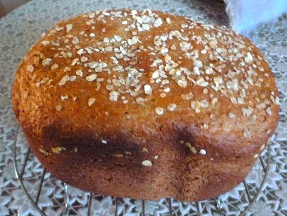 Овсяный хлеб – рецепт